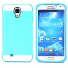 NX CASE Protective Silicone Back Case for Samsung S4 i9500 - Light Blue + Sky Blue + White