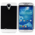 NX CASE Protective Silicone Back Case for Samsung S4 i9500 - Black + White