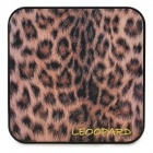 Ounuo Leopard Pattern 8000mAh Mobile Power Source Battery for Samsung / HTC / iPhone - Black + Brown