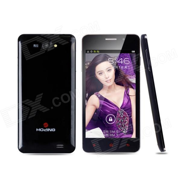 "Mo Ding M3 Dual-Core Android 4.2.2 GSM Bar Puhelin w / 4,7"" kapasitiivinen, Bluetooth, TF - musta"