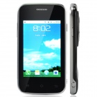 "D7 Android 2.3 GSM Bar Phone w/ 3.3"", Dual Standby, Quad-Band, Bluetooth, Camera - Black + Silver"