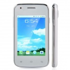 "D5 Android 2.3 GSM Bar Phone w/ 3.2"", Dual Standby, Quad-Band, Bluetooth, Camera - White + Silver"