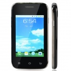 "D5 Android 2.3 GSM Bar Phone w/ 3.2"", Dual Standby, Quad-Band, Bluetooth, Camera - Black + Silver"