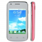 "D5 Android 2.3 GSM Bar Phone w/ 3.2"", Dual Standby, Quad-Band, Bluetooth, Camera - White + Pink"