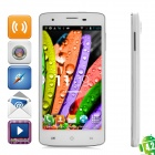 "Aoson G18 Android 4.2 GSM Bar Phone w/ 5.0"" Screen, Dual-Band, Dual-core and Wi-Fi - White"