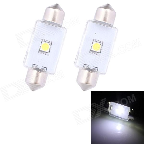 Festoon 42mm 3W 210lm 1 x Epistar White Light Car Auto Reading Lamp (12V / 2 PCS) t10 32mm 42mm festoon 3 6w 124lm epistar 36 cob led white car reading light dc 12 24v