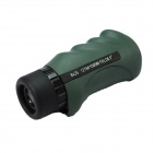 8X25 High Definition Military Green Film Single-Tube Telescope - Army Green + Black