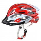 KUYOU KY-001 Outdoor Bicycle One-Piece Helmet - Red (Free Size)