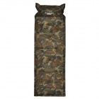 Creeper BL-Q001 Komfortable Outdoor-Self-Inflation Feuchtraumunterputz Dacron Air Cushion Mat - Camouflage