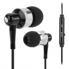 OVLENG iP670 Stereo In-Ear Earphones for Ipod / Iphone / Ipad / Samsung + More - Black
