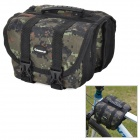 INBIKE Multifunction Waterproof Bike Top Tube Saddle Bag - Camouflage