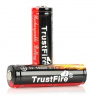 TrustFire Protected 14500 3.7V 900mAh Rechargeable Lithium Batteries (2-Pack)