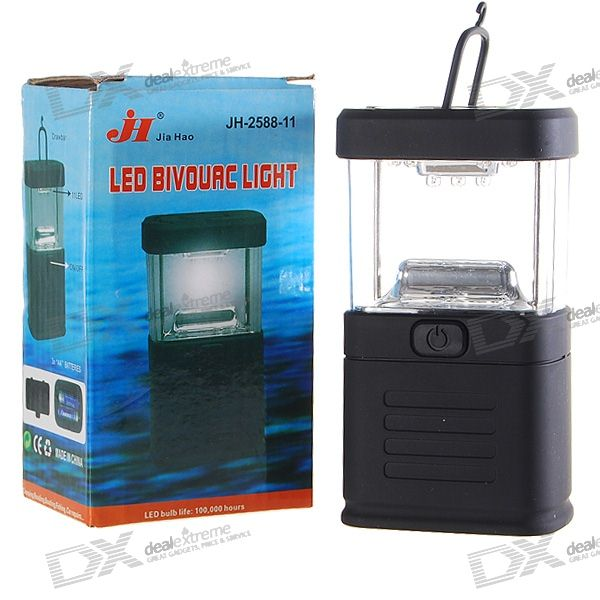 11-LED White Light Camping and Garden Lantern (3*AA)