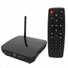 CS27 Quad-Core Android 4.2 Google TV Player w / 2GB RAM, 8GB ROM, Bluetooth, 2,0 MP-Kamera - Schwarz