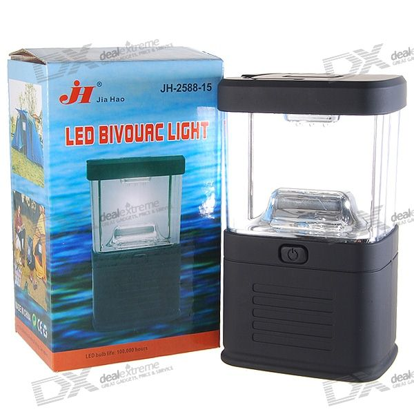 15-LED White Light Camping and Garden Lantern (3*D)