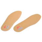 WF1210 Shock Reducing Breathable Hogskin + Latex Shoe Insole Pads (Pair / Size 40)