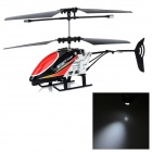 JIA QI TT1005B 2-CH IR Remote R/C Helicopter - Black + Red