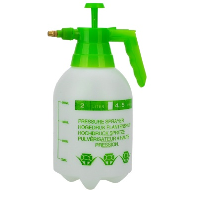 Thickened Car Washer Watering Can - Green + White (2L)