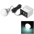 GAUSER GA-360 Outdoor Portable 18000mAh Power Bank w/ 10-LED White Bulb / Adapters - Black + White