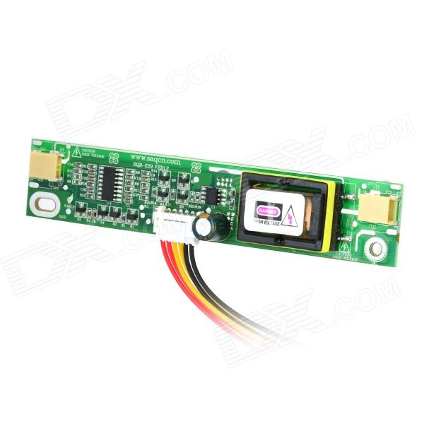SAQ High Voltage Board w/ Cable for Tube of 10~22 LCD Monitor - Green + Multicolored saq high voltage board w cable for tube of 10 22 lcd monitor green multicolored