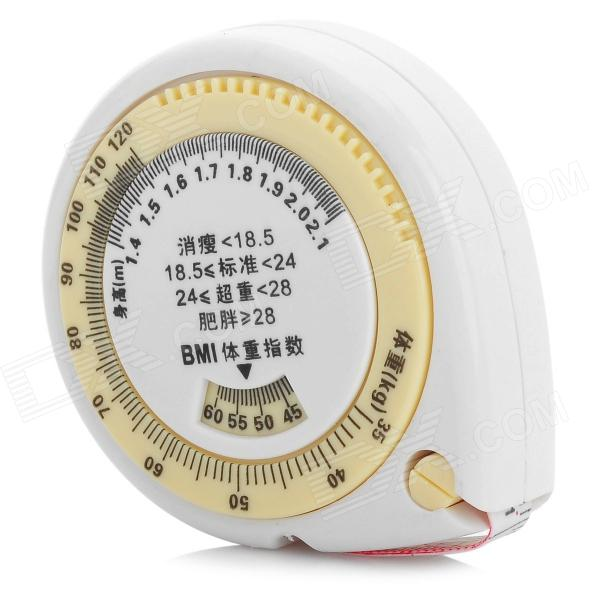 ZhenWei Retractable Tape Measure - Beige + White (1.5m)
