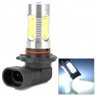 LD LD-9005SF-11W 9005 11W 400lm 6500K 13 LED White Light Car Foglight - Silver + Black + Yellwo