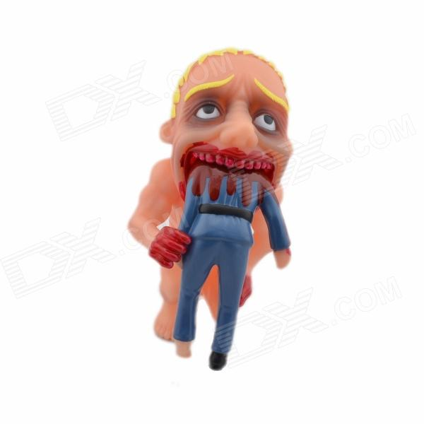 Halloween Scary Vinyl Cannibalism Doll - Multicolored