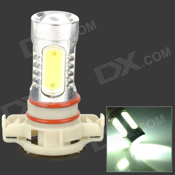 HJ YHJ16W-H16 H16 16W 900lm 6500K 6 LED White Light Car Headlamp - Silver + Yellow + White (10~30V) new vertical battery grip pack 2x en el14 decoded battery for nikon d3100 d3200 d3300 camera 2 step shutter free shipping