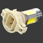 HJ YHJ16W-H16 H16 16W 900lm 6500K 6 LED White Light Car Headlamp - Silver + Yellow + White (10~30V)