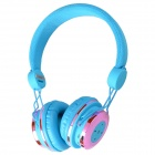 AT-BT804 Bluetooth V2.1 + EDR Stereo Headset - Blue + Pink