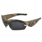 THB968 HD 1080p 5.0MP Sports Video Glasses - Camouflage + Deep Grey