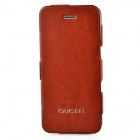 GUCEEL Protective PU Leather Case Cover Stand for Iphone 5 - Brown