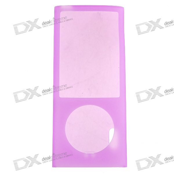 Protective Silicone Case for iPod Nano 5 (Pink)