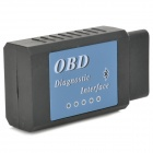 Auto Car Diagnostic Scan Tool - Black + Light Blue