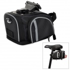 INBIKE IB533 Bicycle Cycling Saddle Bag - Black