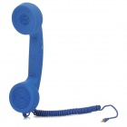 Retro Telephone Style Anti-Radiation Handset for Iphone 4 / 4S / 5 / 5c / 5s - Blue