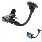 Universal 360 Degree Rotational Car Mount Holder for Samsung / Iphone / HTC - Black