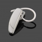 MIAG Bluetooth V3.0 + EDR Stereo Headset w/ Microphone - White + Silver
