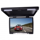 Kangsung TU-1768 17-Inch High-Resolution Car Flip Down Monitor w / VGA / FM - Black