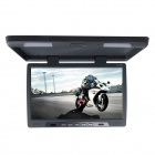 Kangsung TU-198 19-Inch High-Resolution Car Flip Down Monitor w / VGA / FM - Grey