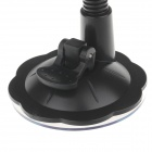 "H29 Car Windshield Holder Swivel Mount w/ C61 4.5~7"" Back Clip for Ipad MINI / Tablet PC - Black"