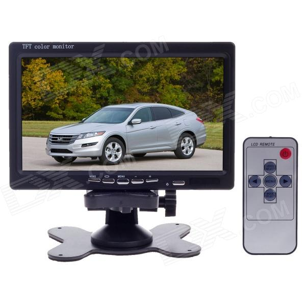 XY-2073 7 TFT Color Car Monitor - Black 8 4inch 8 4 non touch industrial control lcd monitor vga interface white open frame metal shell tft type 4 3 800 600