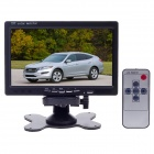 "XY-2073 7"" TFT Color Car Monitor - Black"
