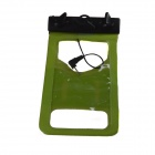 Tteoobl R-13B Protective TPU Waterproof Bag for Iphone / Cell Phone - Green