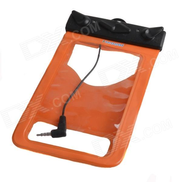 Tteoobl R-13B Protective TPU Waterproof Bag for Iphone / Cell Phone - Orange