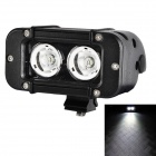 LML-D4020 60 Degrees Flood Beam 20W 1700lm 6000K White Car Light w/ 2 x Cree XM-L U2 - Black (9~70V)