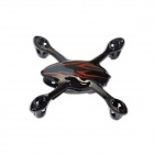 Hubsan  H107-A26 Body Shell for H107C R/C Quadcopter - Red + Black