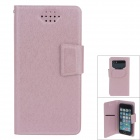 NEWTOP Fashion Suction Cup Mobile Phone PU Leather Case for Samsung i9300 / i9500 - Pink