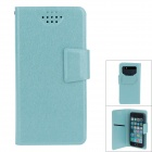 NEWTOP Fashion Suction Cup Mobile Phone PU Leather Case for Samsung i9300 / i9500 - Light Green