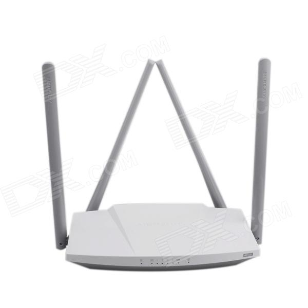 Mercury MW3030R 600Mbps 2.4GHz / 5.0GHz Dual Band Four-antenna Wireless Router - White + Grey